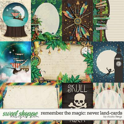 Remember the Magic: NEVER LAND- CARDS by Studio Flergs