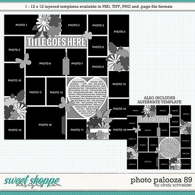 Cindy's Layered Templates - Photo Palooza 89 by Cindy Schneider