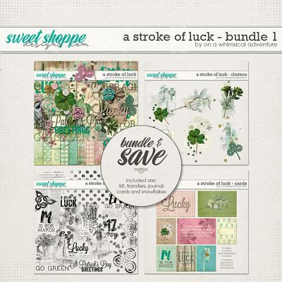 A Stroke Of Luck Bundle 1 by On A Whimsical  Adventure