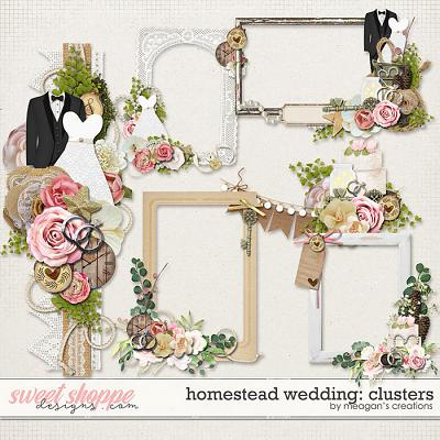Homestead Wedding: Clusters by Meagan's Creations