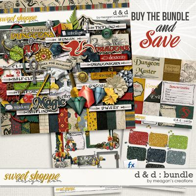 D & D : Collection Bundle by Meagan's Creations