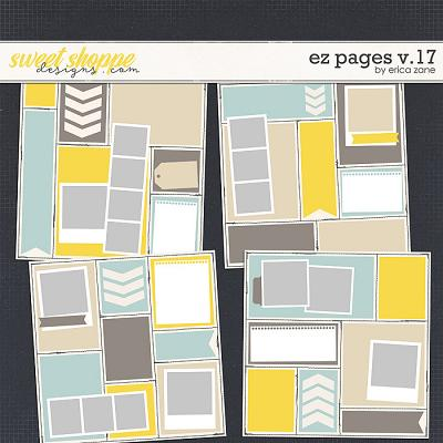 EZ Pages v.17 Templates by Erica Zane