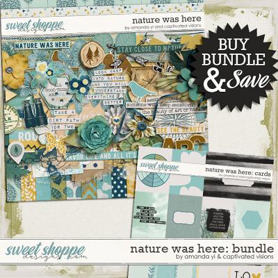 Nature Was Here : Bundle by Amanda Yi & Captivated Visions