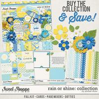 Rain or Shine Collection by Amber Shaw