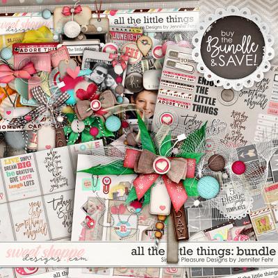all the little things bundle: Simple Pleasure Designs by Jennifer Fehr