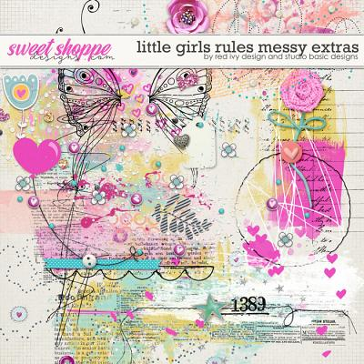 Little Girls Rules Extras by Red Ivy Design and Studio Basic Designs