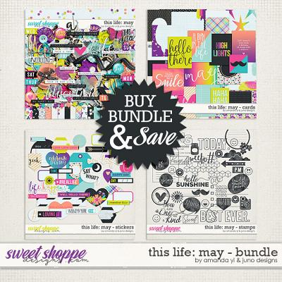 This Life: May - Bundle by Amanda Yi & Juno Designs