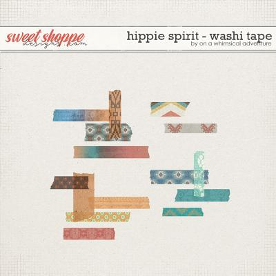 Hippie Spirit Washi Tape by On A Whimsical Adventure