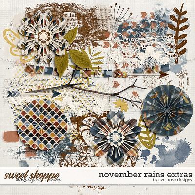 November Rains Elements by River Rose Designs