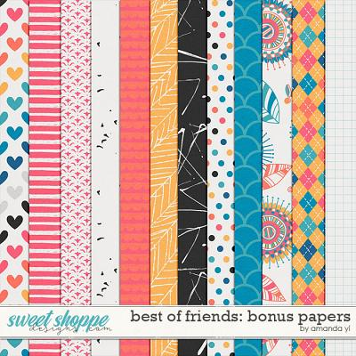 Best of Friends: Bonus Papers by Amanda Yi