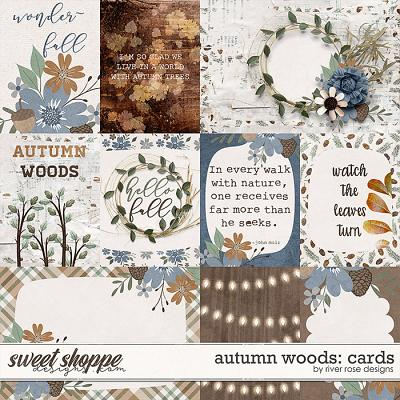Autumn Woods: Cards by River Rose Designs