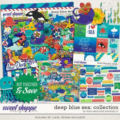 Deep Blue Sea : Bundle by Traci Reed & Amanda Yi