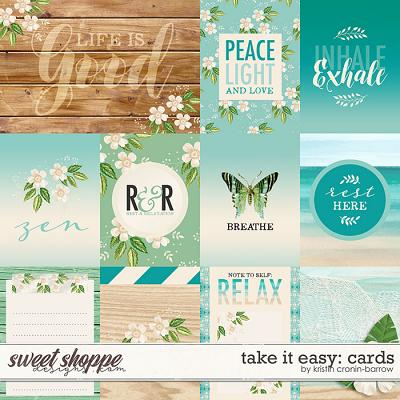 Take it Easy Cards by Kristin Cronin-Barrow