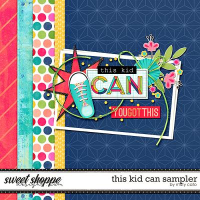 This Kid Can Sampler by Misty Cato