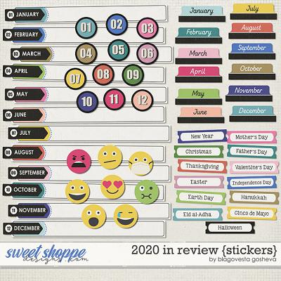 2020 in Review {stickers} by Blagovesta Gosheva