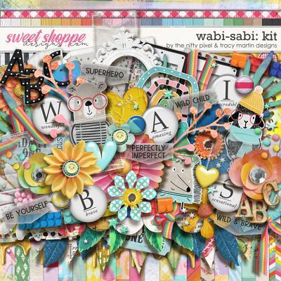 WABI-SABI KIT | The Nifty Pixel & Tracy Martin Designs