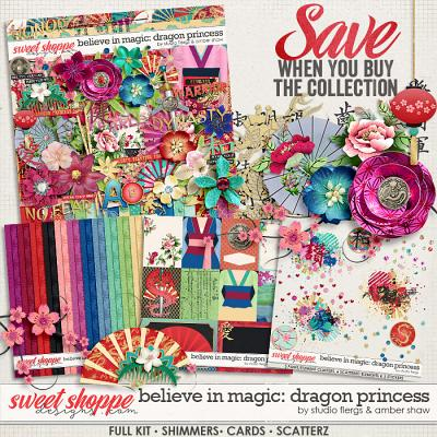 Believe in Magic: Dragon Princess Collection by Amber Shaw & Studio Flergs