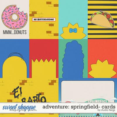 Adventure: Springfield- CARDS by Studio Flergs