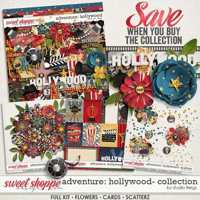 Adventure: Hollywood- COLLECTION & *FWP* by Studio Flergs