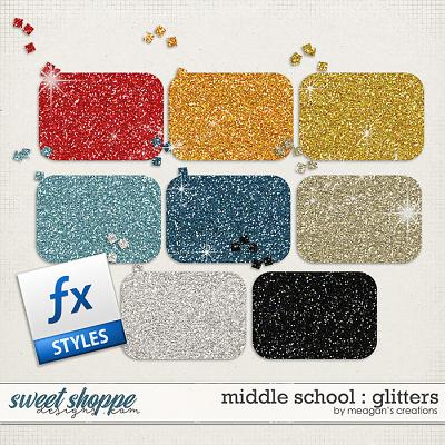 Middle School : Glitters by Meagan's Creations