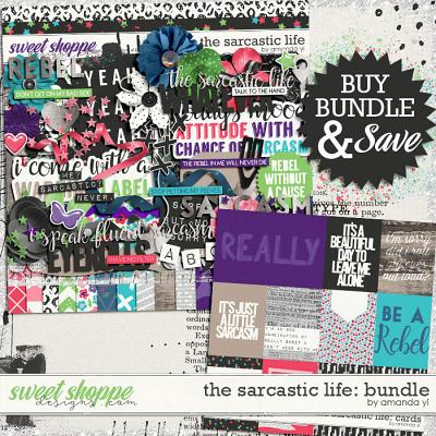The Sarcastic Life: Bundle by Amanda Yi