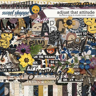 Adjust That Attitude Kit by Erica Zane & Studio Basic