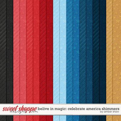 Beleive in Magic: Celebrate America Shimmers by Amber Shaw