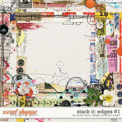 Stack It: Edges #1 by Studio Basic and Erin Wright