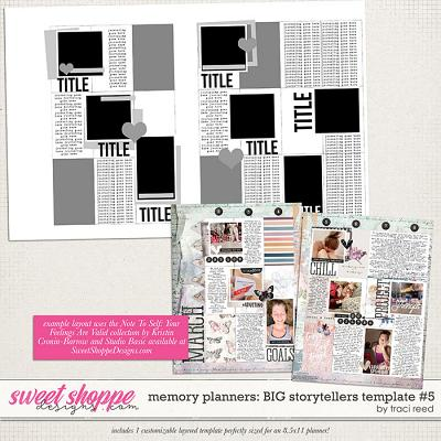 Memory Planners - Big - Storytellers #5 by Traci Reed