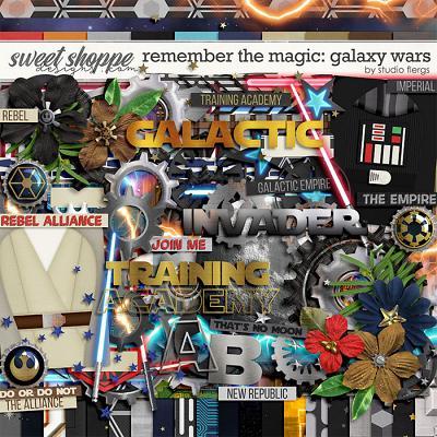 Remember the Magic: GALAXY WARS by Studio Flergs
