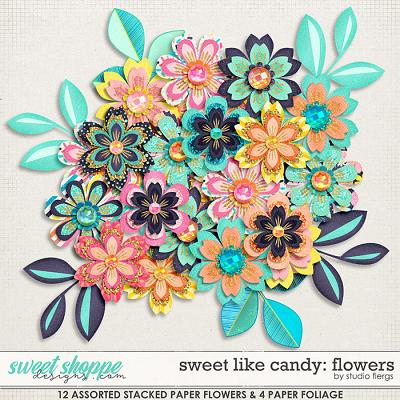 Sweet Like Candy: FLOWERS by Studio Flergs