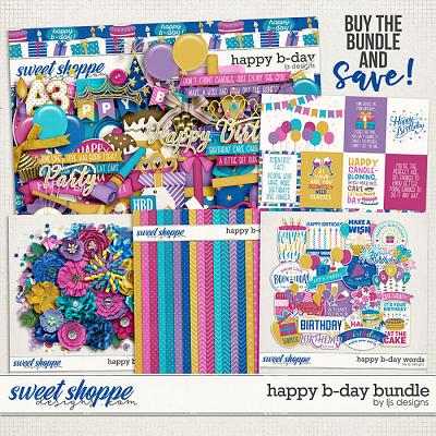 Happy B-day Bundle by LJS Designs