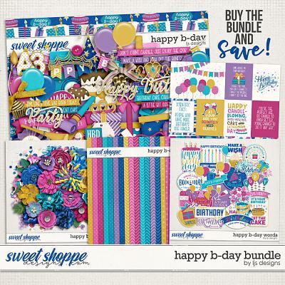 Happy B-day Bundle by LJS Designs