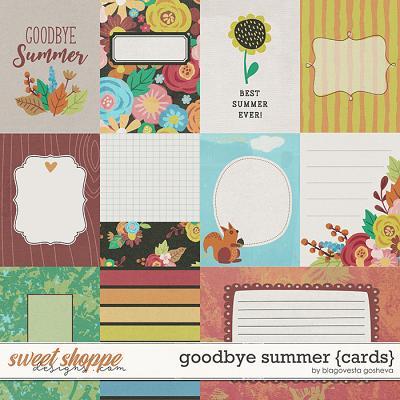 Goodbye Summer {cards} by Blagovesta Gosheva