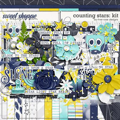 Counting Stars: Kit by River Rose Designs