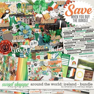 Around the world: Ireland bundle by Amanda Yi & WendyP Designs