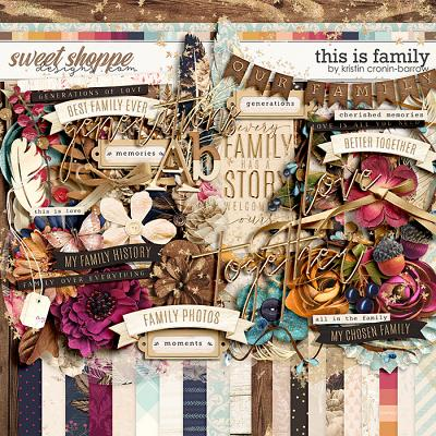 This is Family by Kristin Cronin-Barrow
