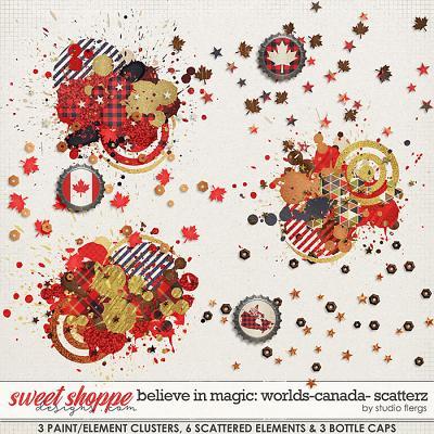Believe in Magic: Worlds - Canada Scatterz by Studio Flergs