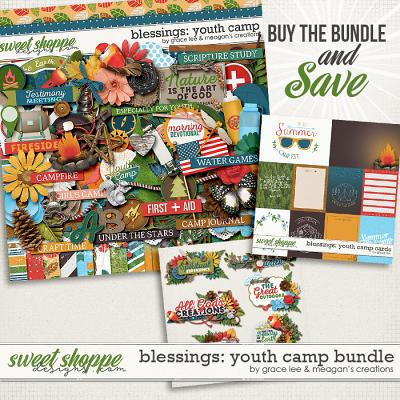 Blessings: Youth Camp Bundle by Grace Lee and Meagan's Creations