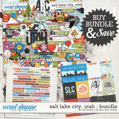 Salt Lake City, Utah Bundle by Jady Day Studio and Amanda Yi