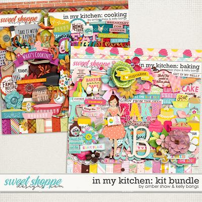 In My Kitchen: Baking & Cooking Bundle by Amber Shaw and Kelly Bangs Creative