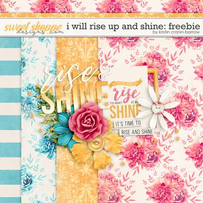 I will rise up and shine by Kristin Cronin-Barrow