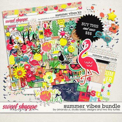 Summer Vibes: Bundle by Amanda Yi, Studio Basic Designs & Two Tiny Turtles