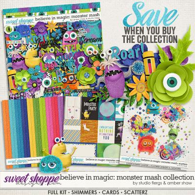 Believe in Magic: Monster Mash Collection by Amber Shaw & Studio Flergs