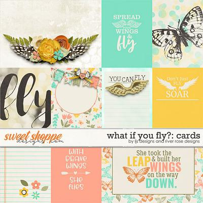 What If You Fly?: Cards by LJS Designs and River Rose Designs