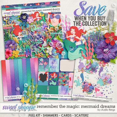 Remember the Magic: MERMAID DREAMS- COLLECTION & *FWP* by Studio Flergs