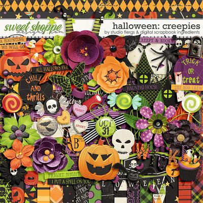 Halloween Creepies by Studio Flergs & Digital Scrapbook Ingredients
