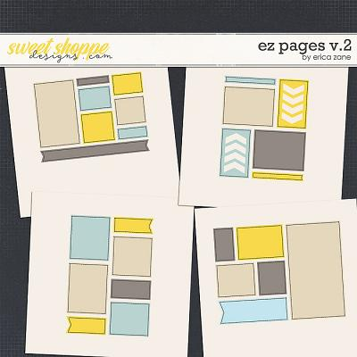 EZ Pages v.2 Templates by Erica Zane