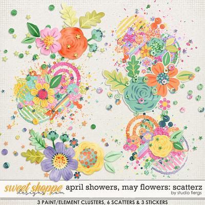 April Showers, May Flowers: SCATTERZ by Studio Flergs