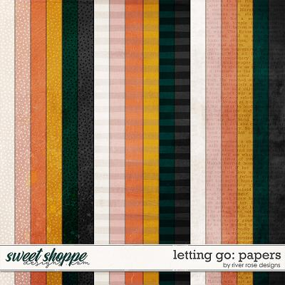 Letting Go: Papers by River Rose Designs